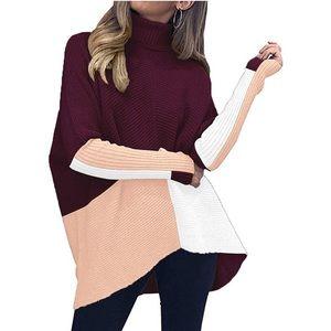 Sweaters - Long Batwing Sleeve Oversized Sweater